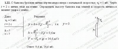 Задача 1.22. Чертов а.г. воробьев а.а., решение + условие ch.